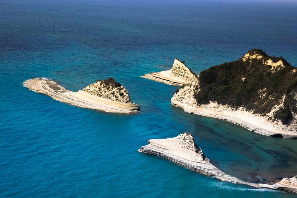 porto timoni  corfu grecia